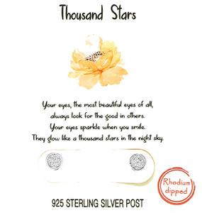 thousand stars earrings