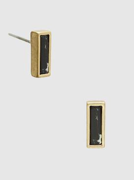small semi-precious stone earrings