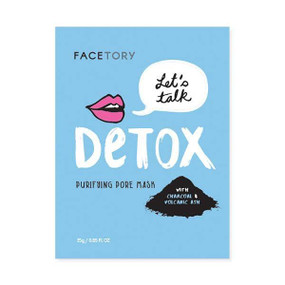 let's talk detox purifying pore mask
