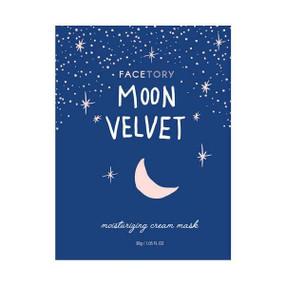 moon velvet moisturizing cream mask