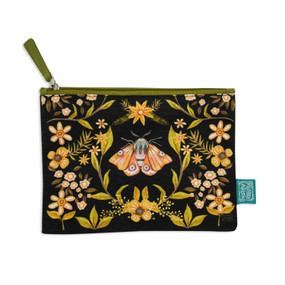 moth fabric pouch