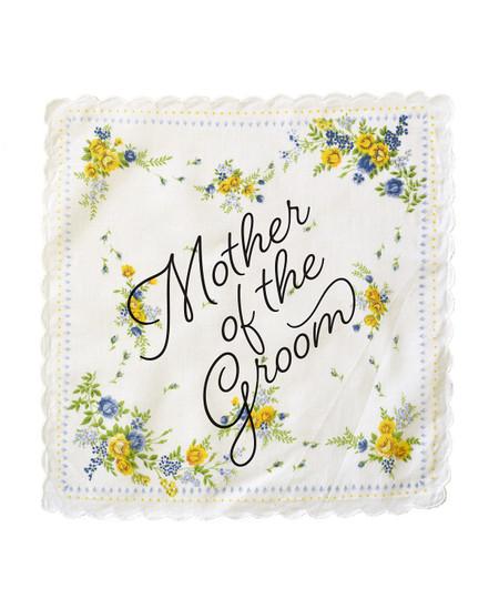 mother of the groom wedding handkerchief