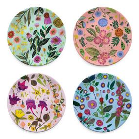 wildflower serveware plates