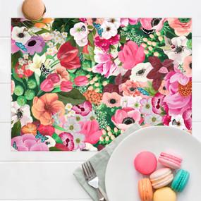 haute house floral placemat