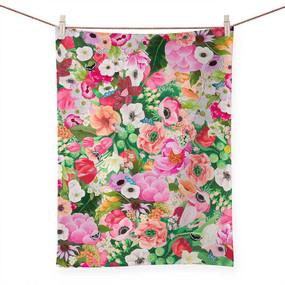 haute house floral tea towel