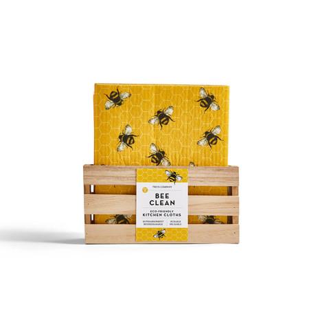 bee clean multipurpose kitchen cloth, bee