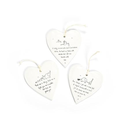 heart shaped hang tag, magical dreams, read me a story, baby miracle