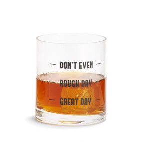 don't even double old fashion glass