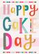 happy wonderful cake day birthday card