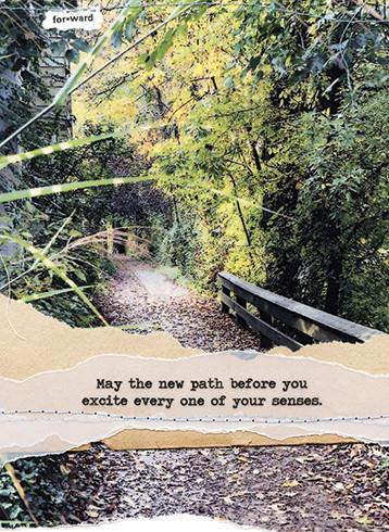 new path friendship card
