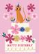 birthday cat birthday card