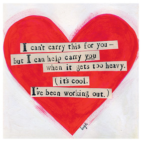 carry you encouragement card