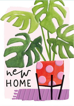 plant new home card