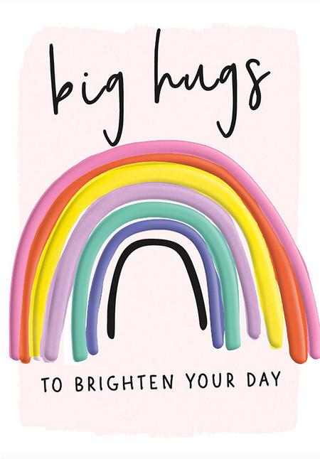 big hugs rainbow friendship