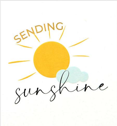 sending sunshine friendship card