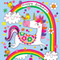 unicorn and chick jigsaw puzzle and birthday card