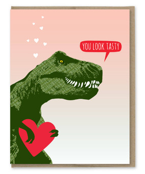 you look tasty t-rex | love