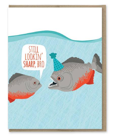 lookin' sharp piranhas birthday