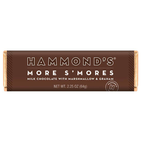 more s'mores milk chocolate bar