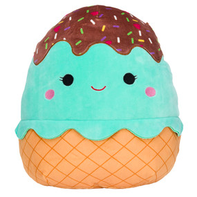 """food squishmallow friends 8"""", maya mint sundae"""