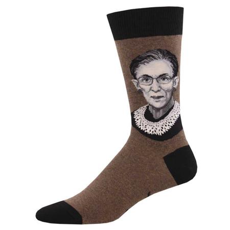 rbg mens crew socks
