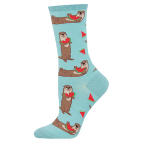 ottermelon womens crew socks