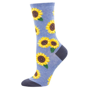 more blooming womens crew socks