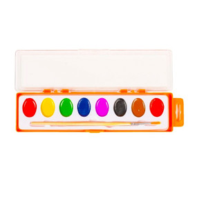 watercolor paint pallets