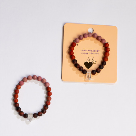 love and clarity bracelet