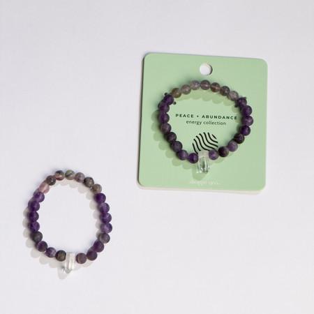 peace and abundance bracelet