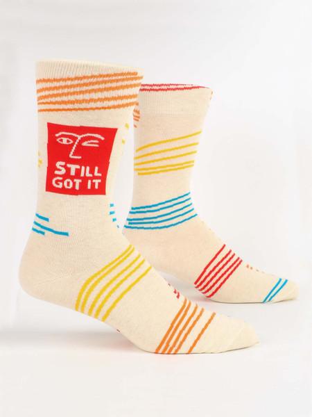 still got it mens crew socks