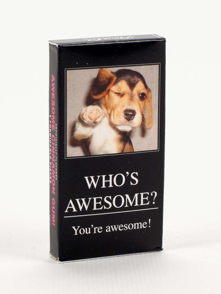 who's awesome gum