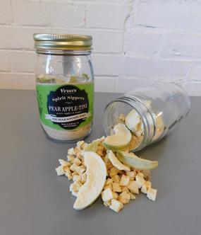 spirit sipper infusion jar, pear apple-tini