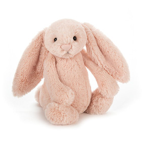 bashful blush bunny medium stuffed animal