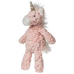 blush putty unicorn small, plush stuffed animal