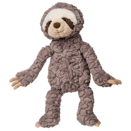 grey putty sloth, plush stuffed animal