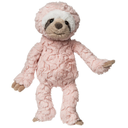 blush putty baby sloth, plush stuffed animal