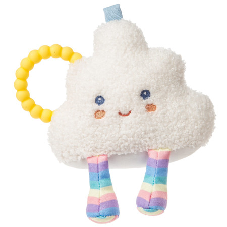 puffy cloud rattle