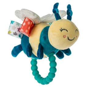 taggies fuzzy buzzy bee teether rattle
