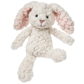 cream putty bunny stuffed animal