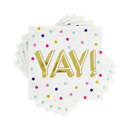 yay!  cocktail napkins