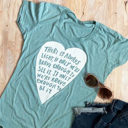amanda gorman quote t-shirt