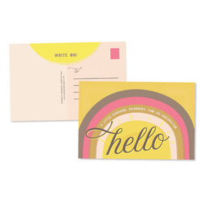hello sunshine postcards