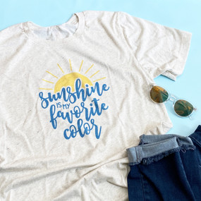 sunshine is my favorite color unisex tee