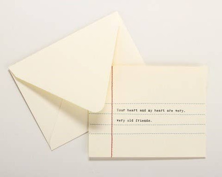 your heart and my heart, love, greeting card