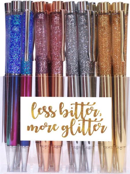 liquid glitter pen (assorted colors)