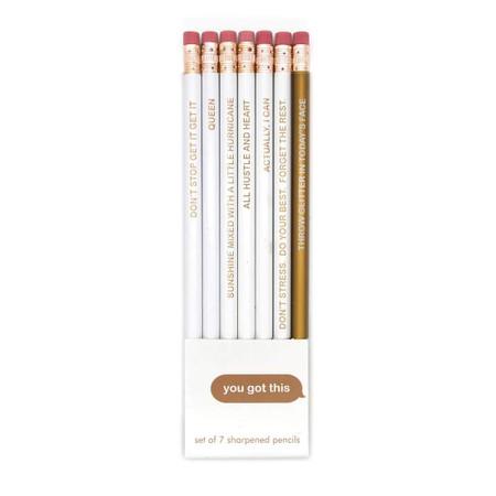 you got this pencil set