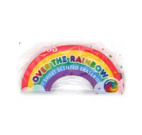 over the rainbow scented eraser