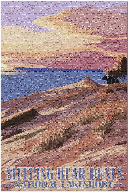 sleeping bear dunes 1000 piece puzzle