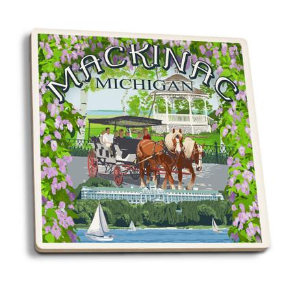 mackinac montage coaster